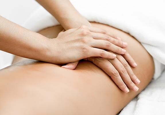 the massage spa signature deep tissue massage